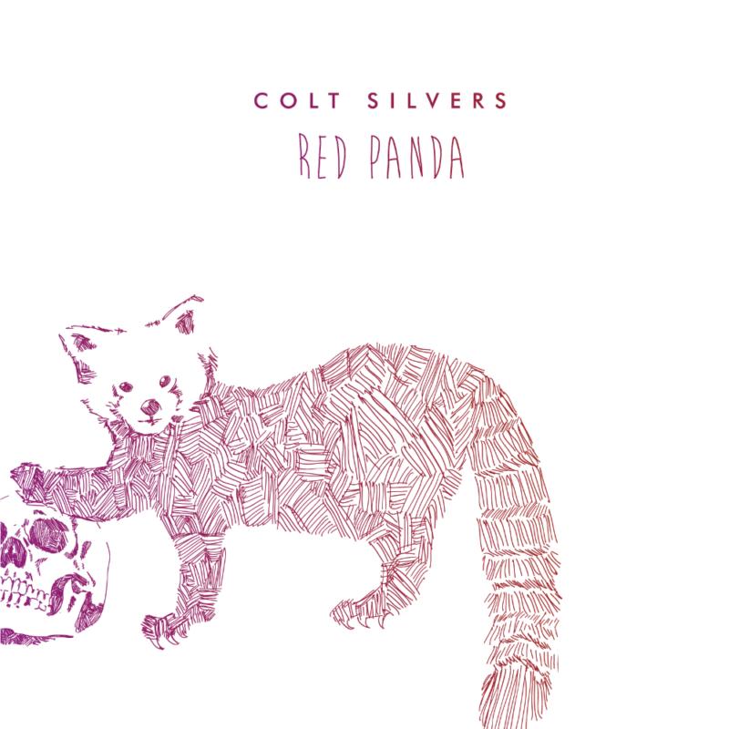 "Pochette Album de Colt Silvers ""Red Panda"""
