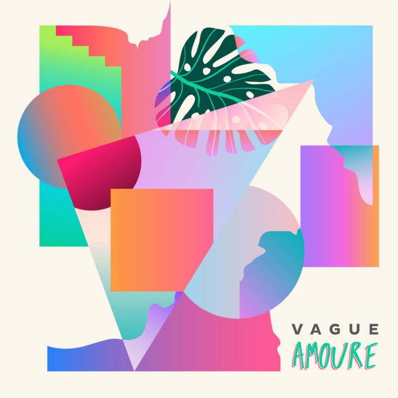 pochette d'Amoure - Vague