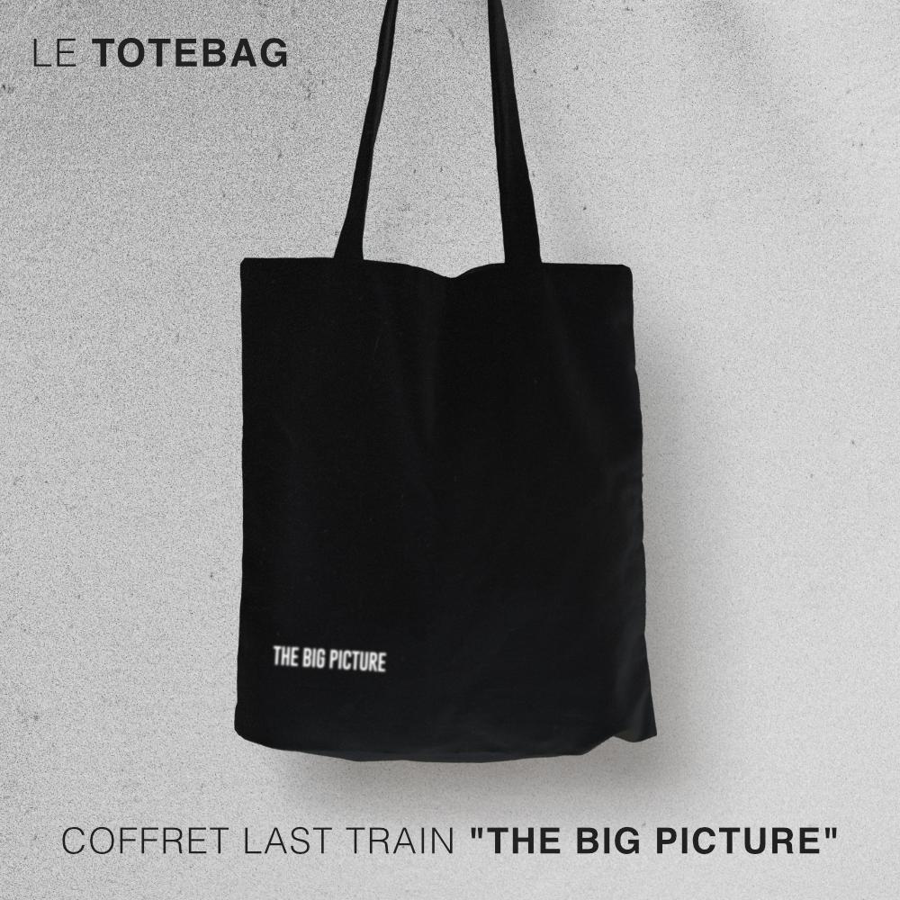 """Totebag - Coffret Last Train """"The Big Picture"""""""