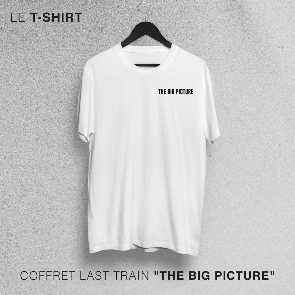 "T-shirt - Coffret Last Train ""The Big Picture"""